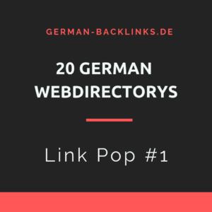 20 deutsche Webverzeichnisse kaufen