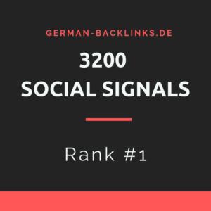 3200 Social Signals kaufen