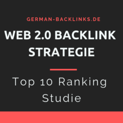 web 2 0 Ranking Strategie