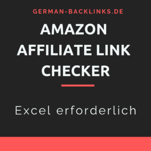Amazon Affiliate Link Checker