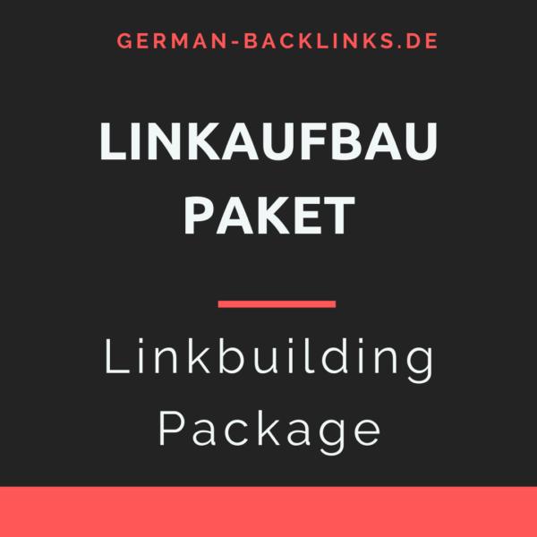 Linkaufbau Paket - Linkbuilding Package